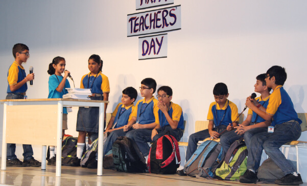 Teachers' Day Celebrations