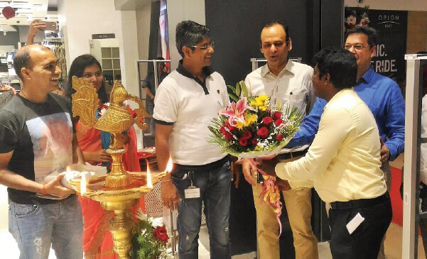 Grand Opening of Reliance Trends at Orion East Mall