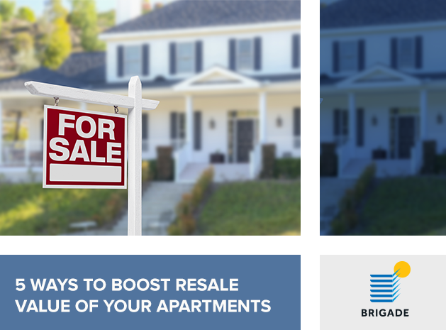 5 ways to boost the Resale Value of your Apartment