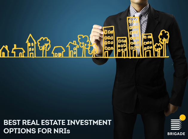Best real estate investment options for NRIs