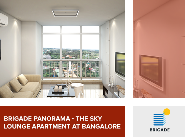 Brigade Panorama—The sky lounge apartment at Bangalore