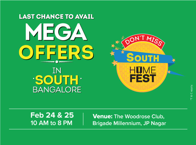 Brigade Mega Home Fest 2018