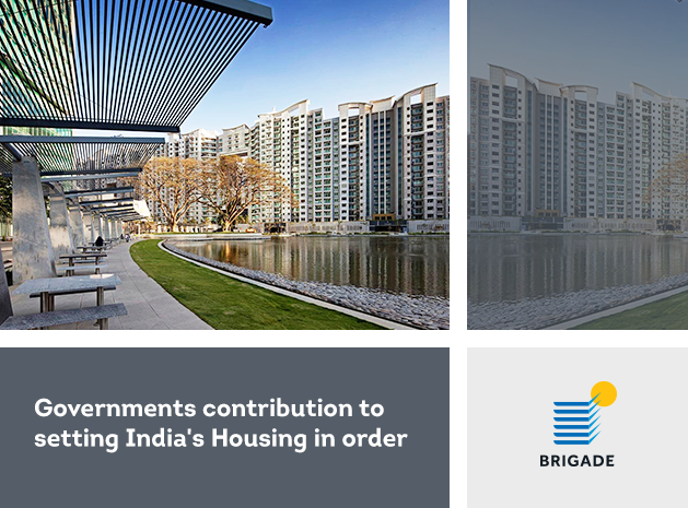 Governments contribution to setting India's Housing in order