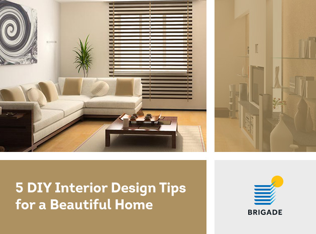5 DIY Interior Design Tips for a Beautiful Home