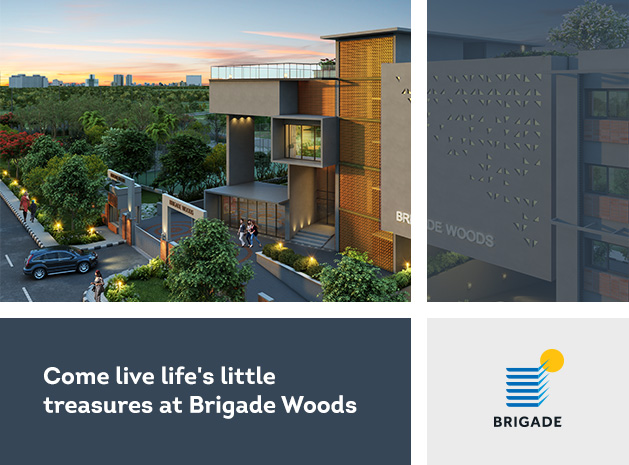 Come live life's little treasures at Brigade Woods
