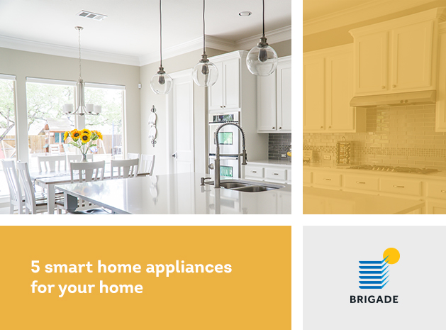 Five smart home appliances for your home