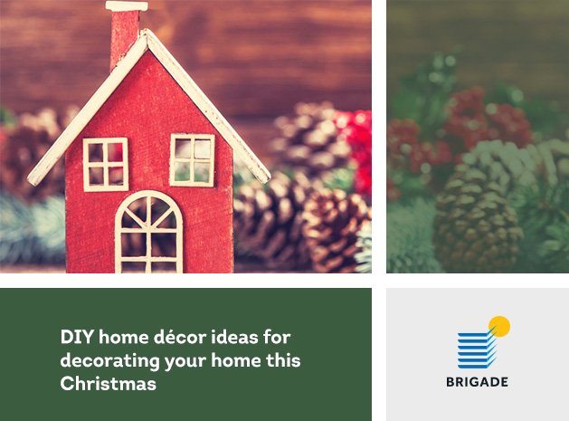 DIY home décor ideas for decorating your home this Christmas