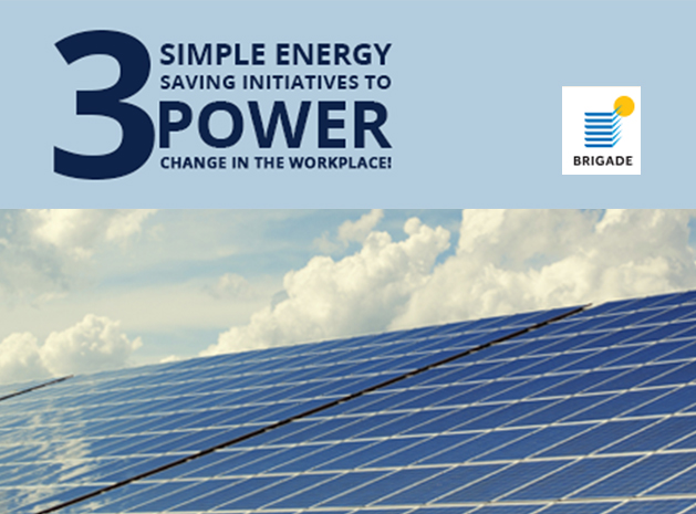 Three Simple Energy Saving Initiatives To Power Change in the Workplace!
