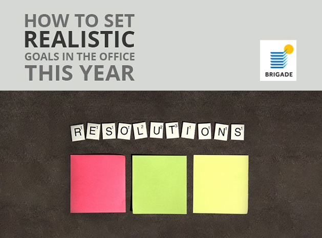 How to Set Realistic Goals in the Office This Year & To Achieve Them