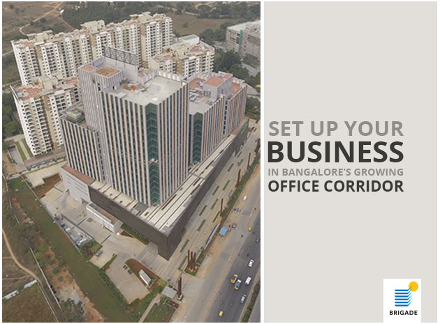 Set Up Your Business in Bangalore's Growing Office Corridor