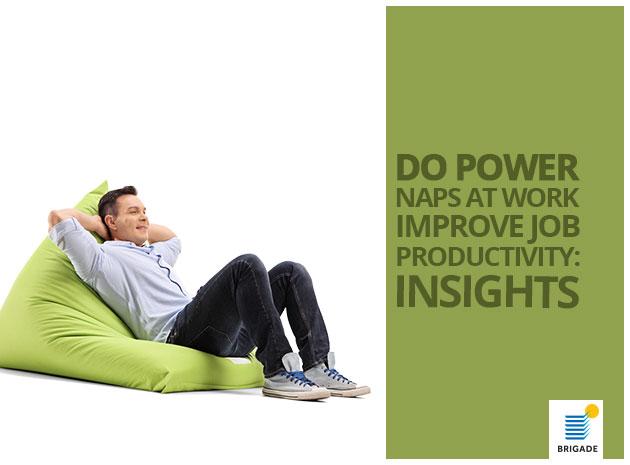 Do Power Naps At Work Improve Job Productivity: Insights