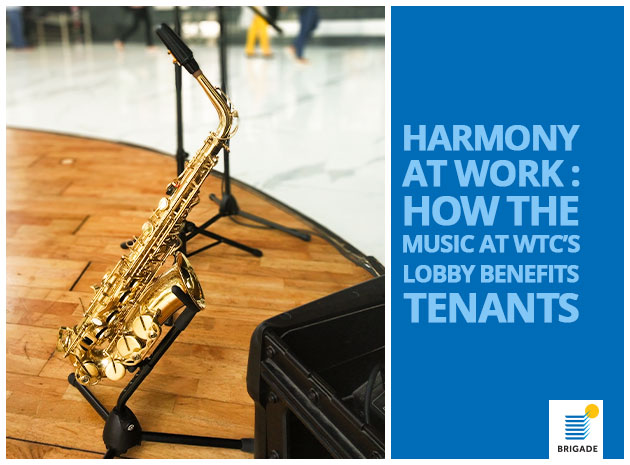 Harmony At Work: How The Music At WTC Bangalore's Lobby Helps Employees