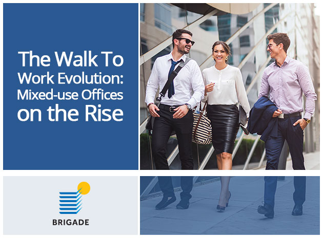 The Walk To Work Evolution: Mixed-Use Offices On The Rise