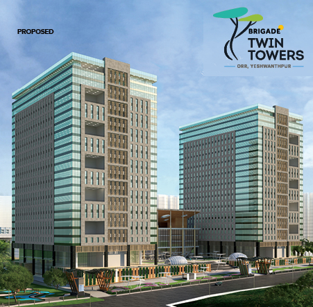 Two magnificent towers, one business destination