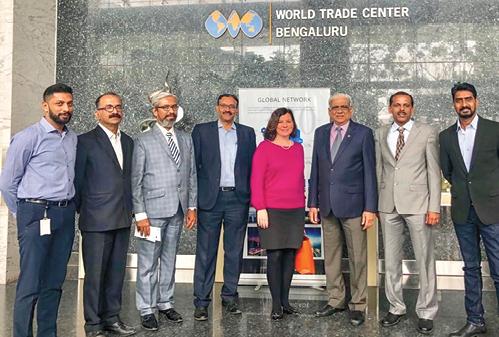 WTC Indianapolis & WTC Bengaluru Touch Base