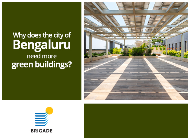 Why does the city of Bengaluru need more green buildings?