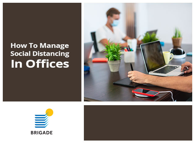 How to Manage Social Distancing in Offices?