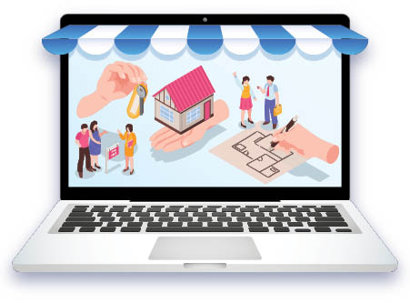 Home buying goes online full steam ahead! FULL STEAM AHEAD!