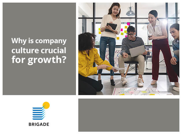 Why is company culture crucial for growth?
