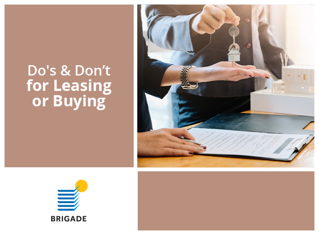 Dos and Don'ts for leasing or buying a CRE property