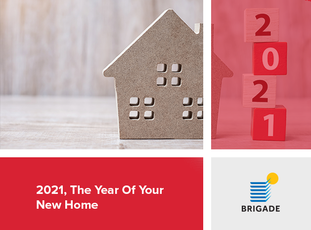 2021, the year of your new home