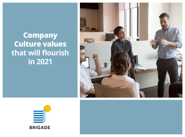 Company Culture values that will flourish in 2021