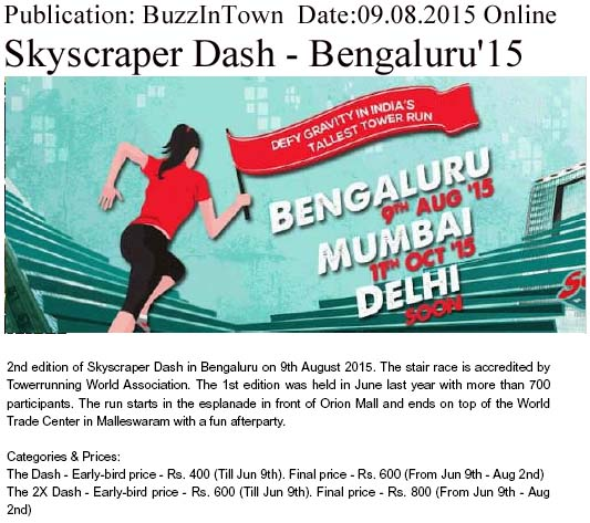 Skyscraper Dash - Bengaluru 15