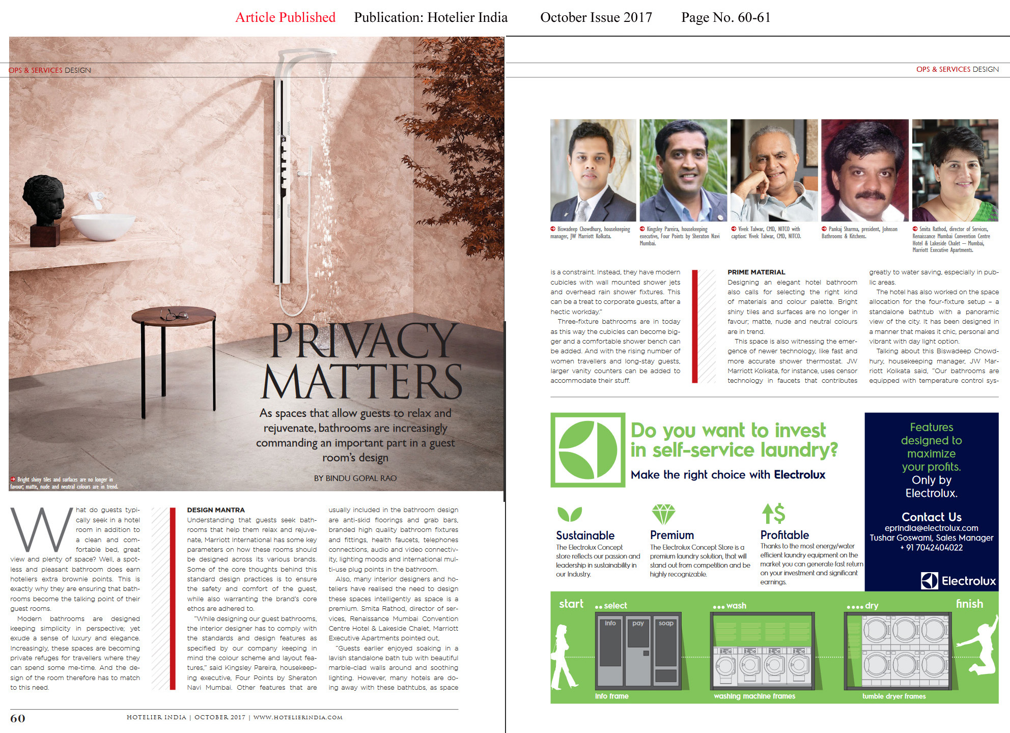 Privacy Matters—Hotelier India-Magazine