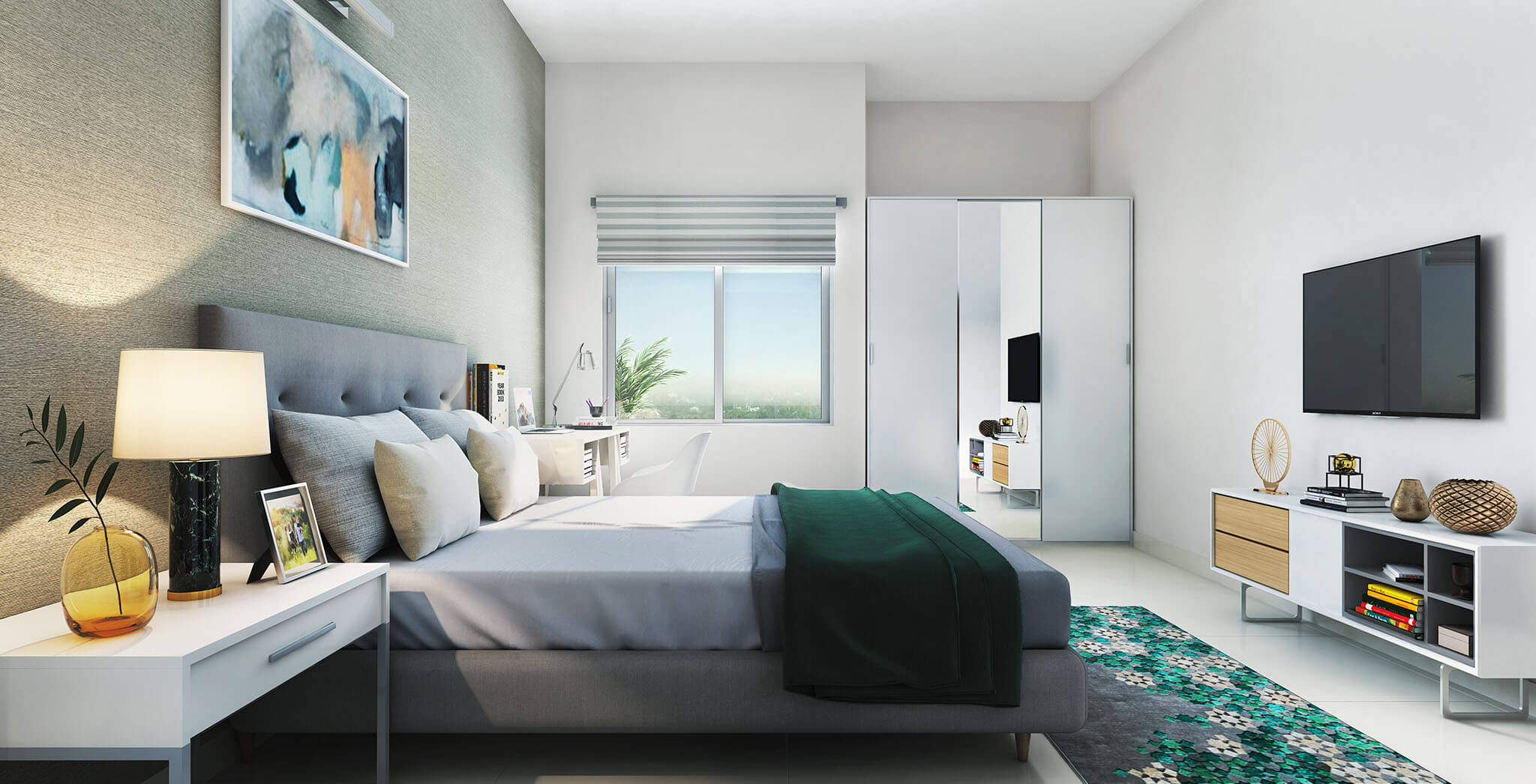 Master Bedroom—Artist's Impression