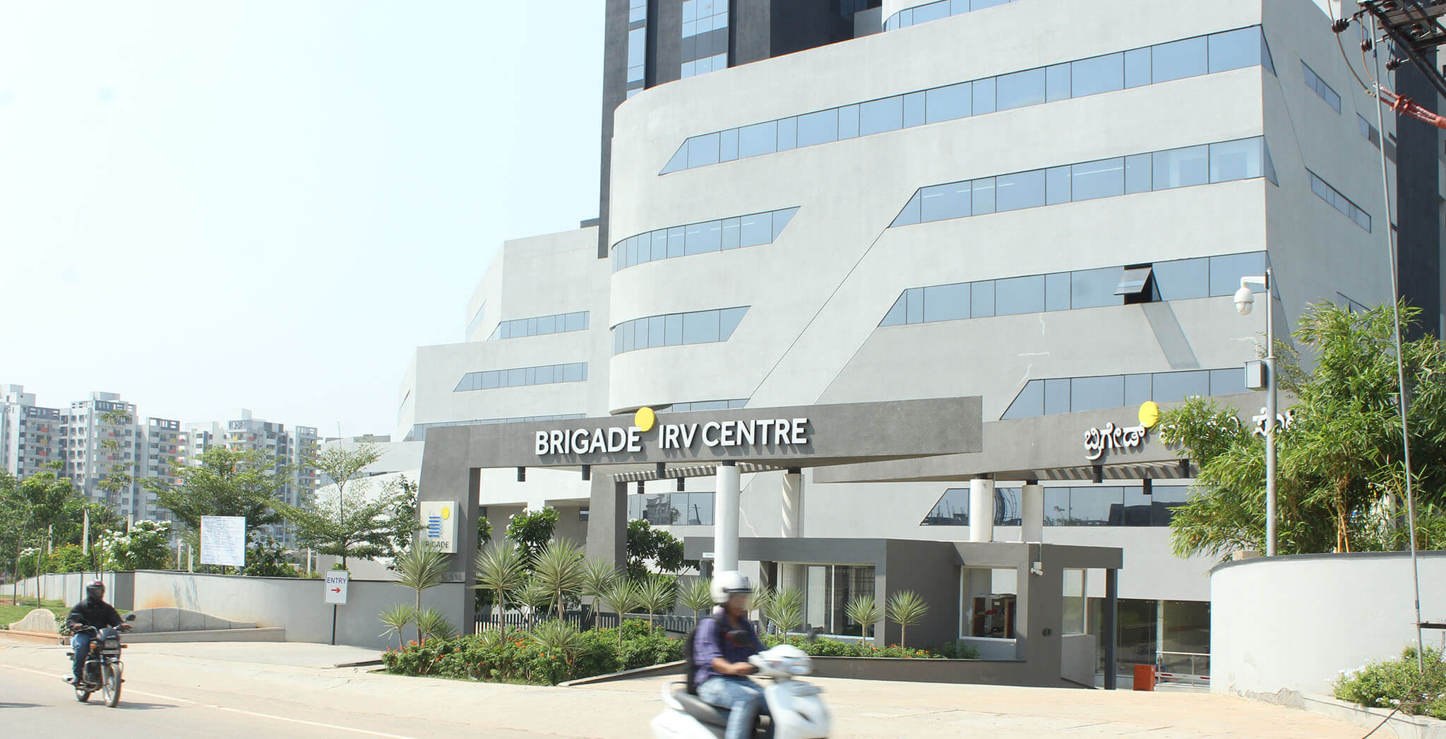Brigade IRV Center - Whitefield, Bangalore, Plan, Location