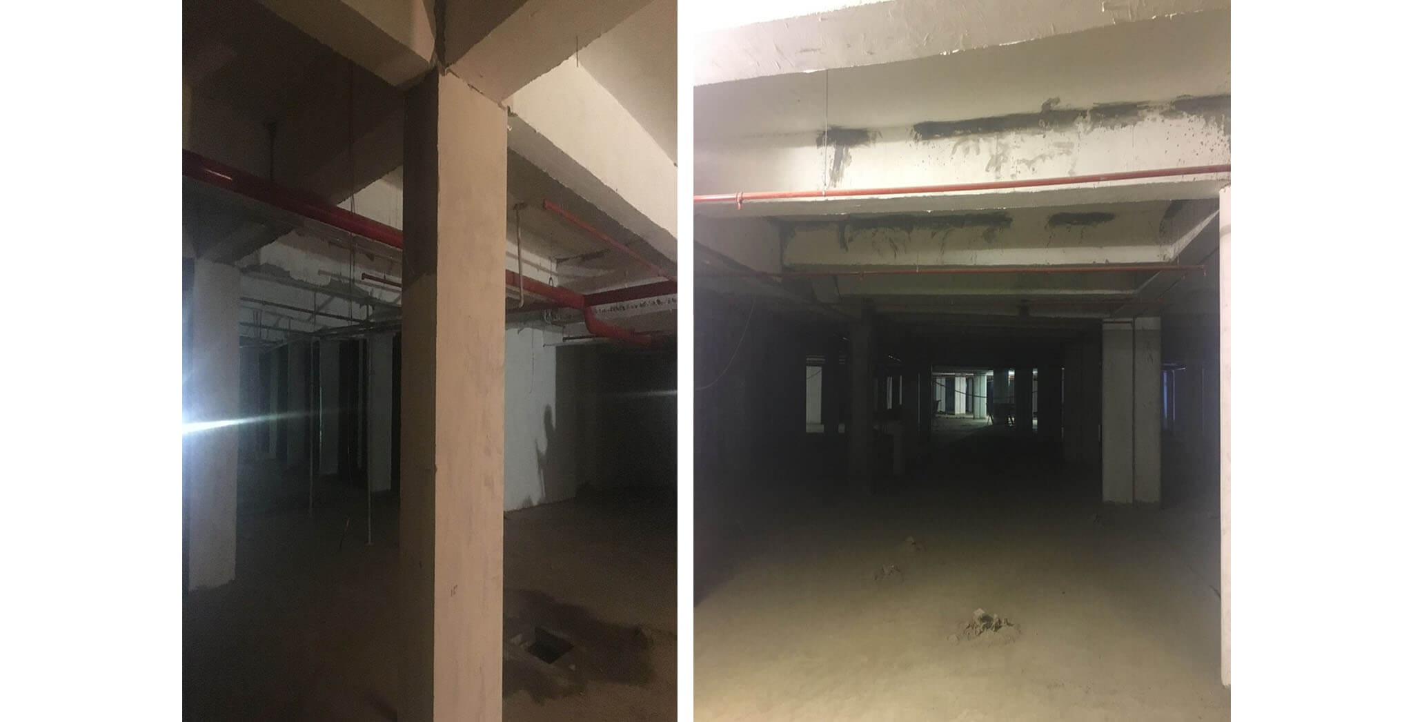Mar 2018 - Crimson block—Upper basement fire work progress