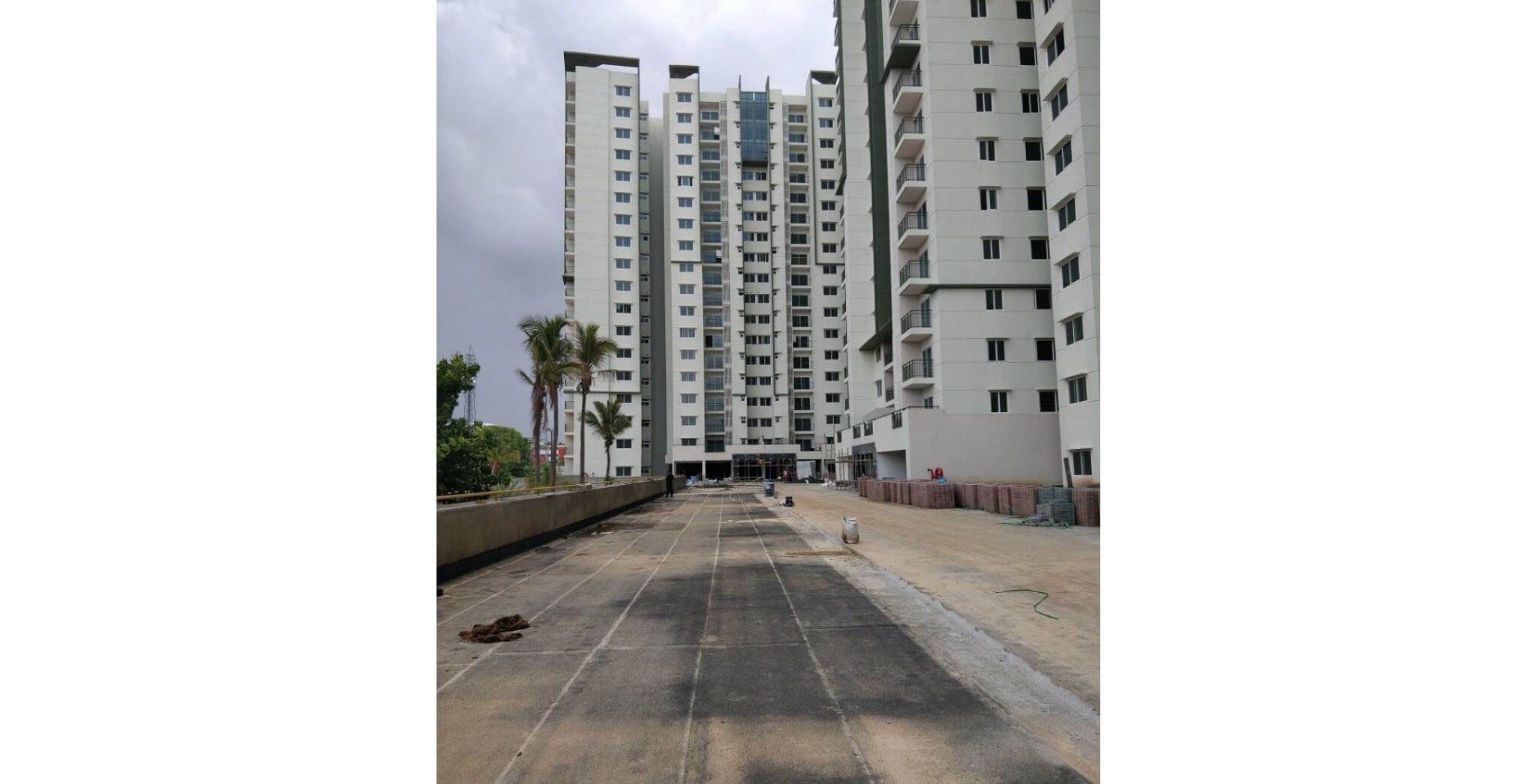 Jun 2018 - Podium level—Waterproofing works nearing completion