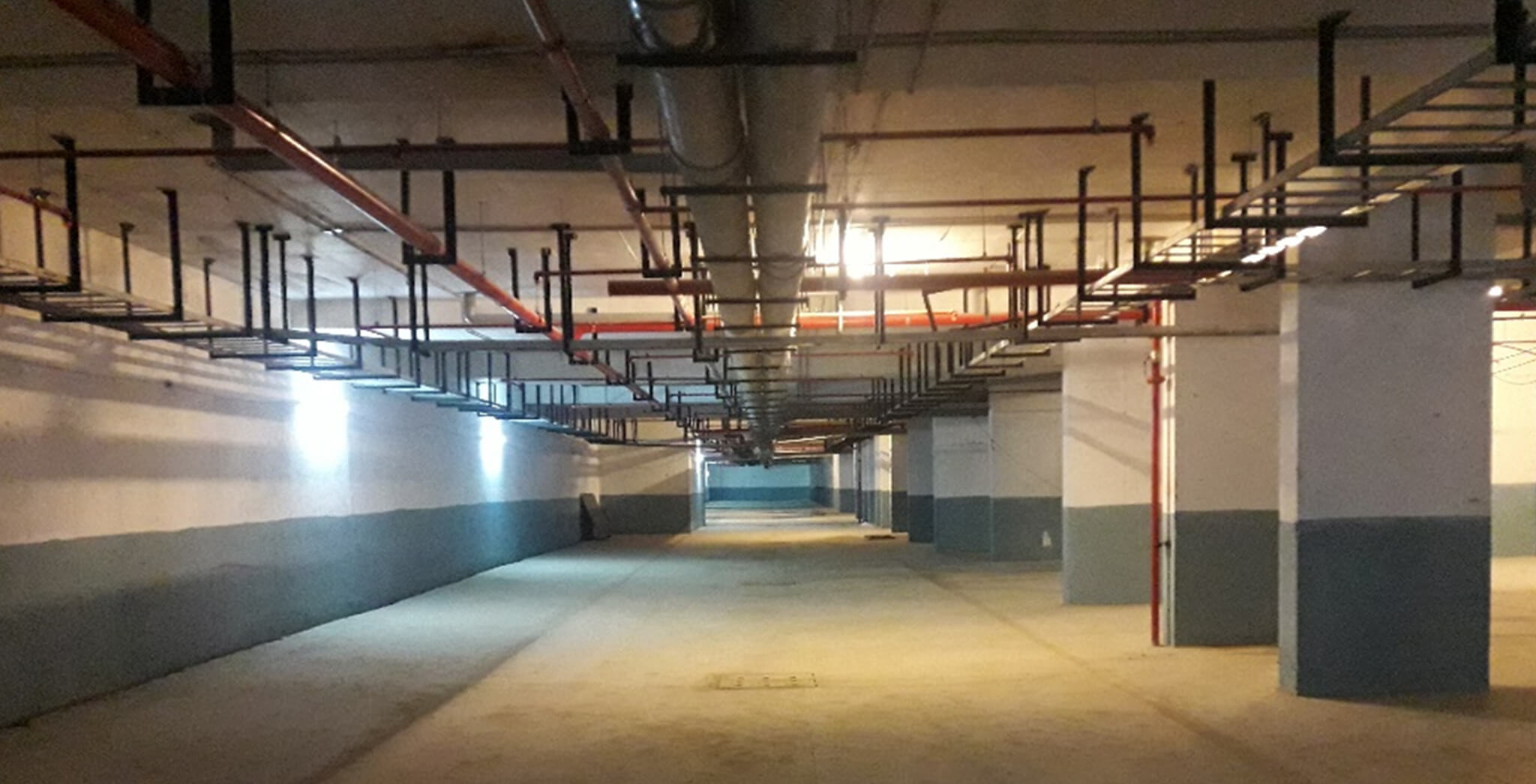 Nov 2018 - Basement: Fire-fighting works and plumbing works completed