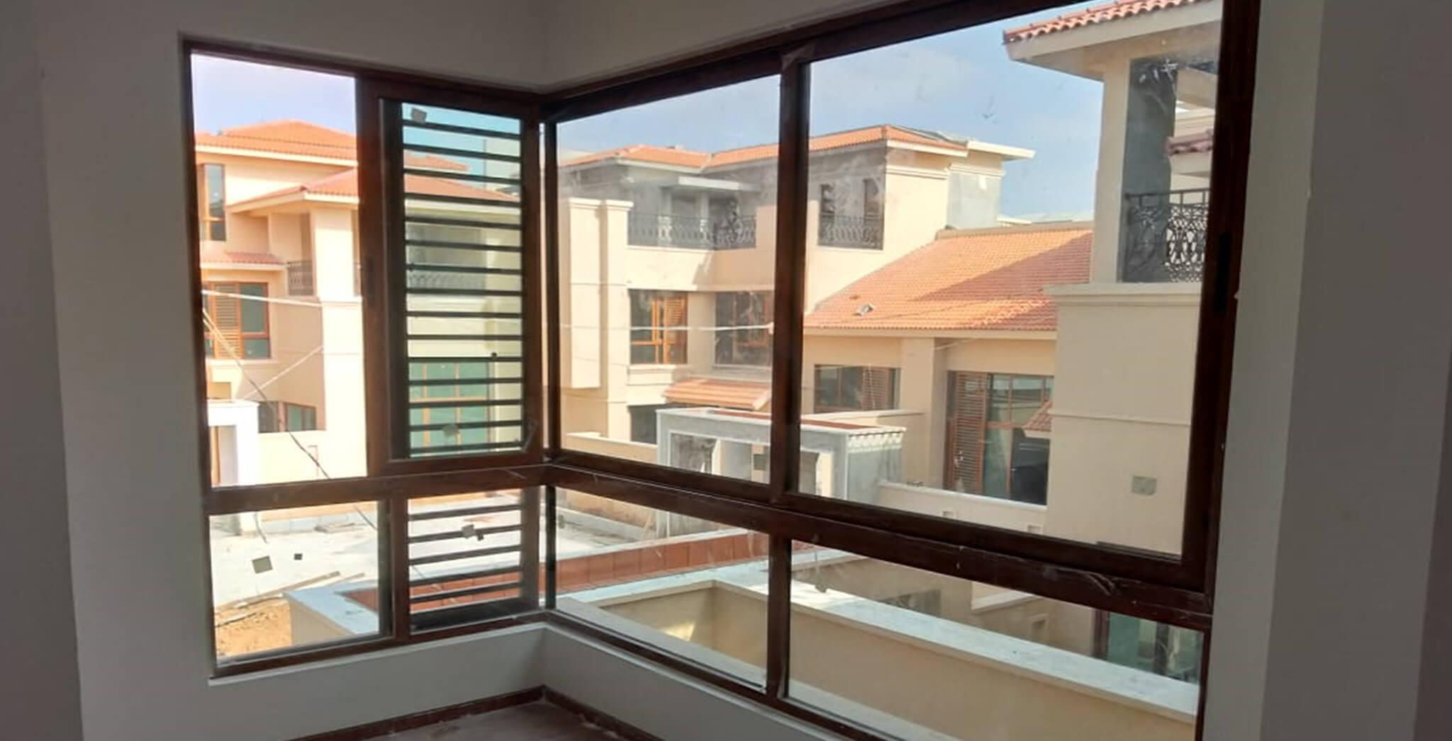 Nov 2018 - Villas window installation work-in-progress