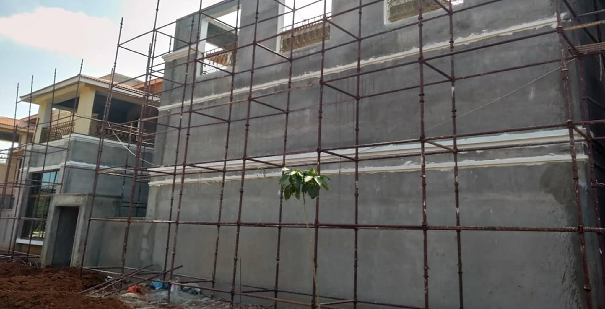 Nov 2018 - C Cluster External Painting work-in-progress