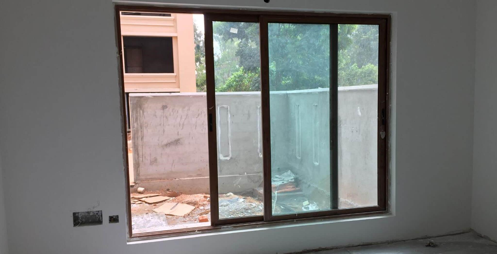 Jan 2019 - Villas window installation work-in-progress