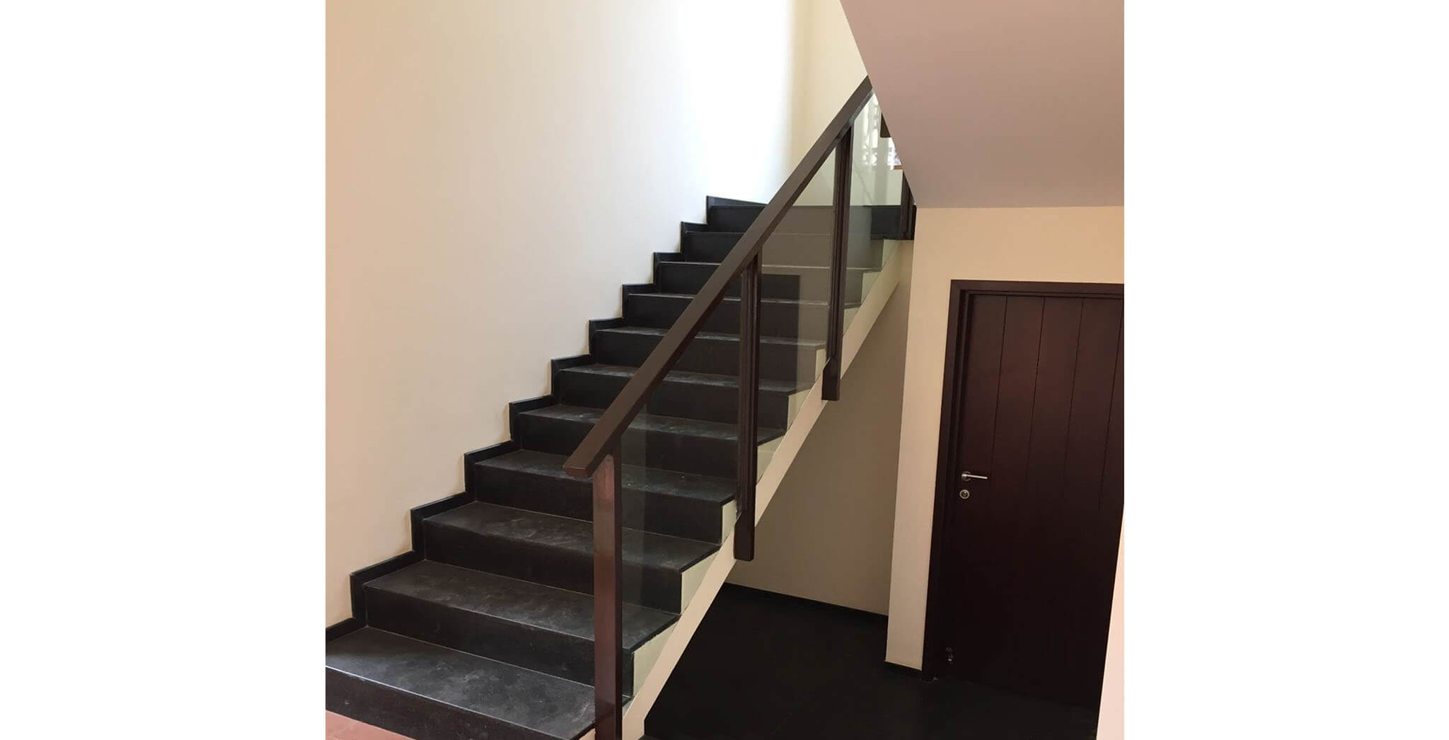Apr 2019 - Villas: Staircase railing work-in-progress