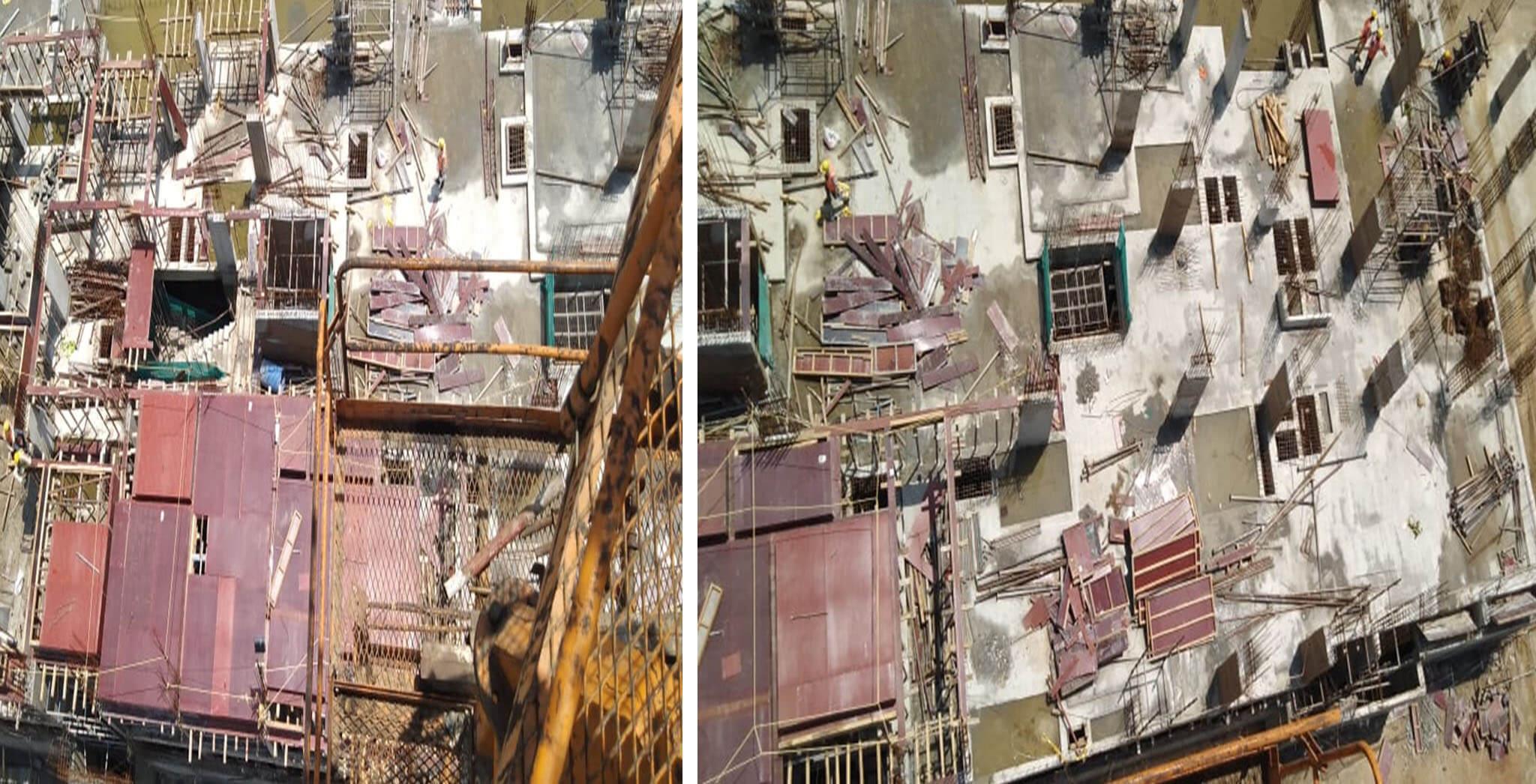 Jun 2019 - Block E: Aerial view [Ground floor (J,I)]