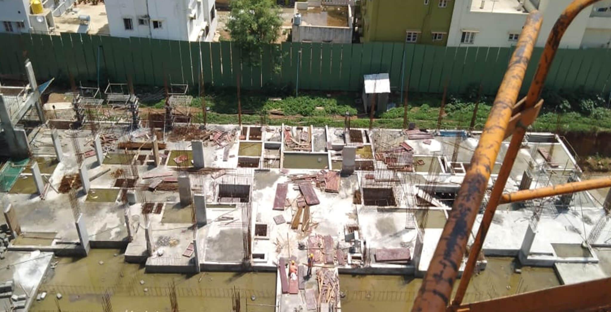Jun 2019 - Tower E: Aerial view [Ground (O,P)]