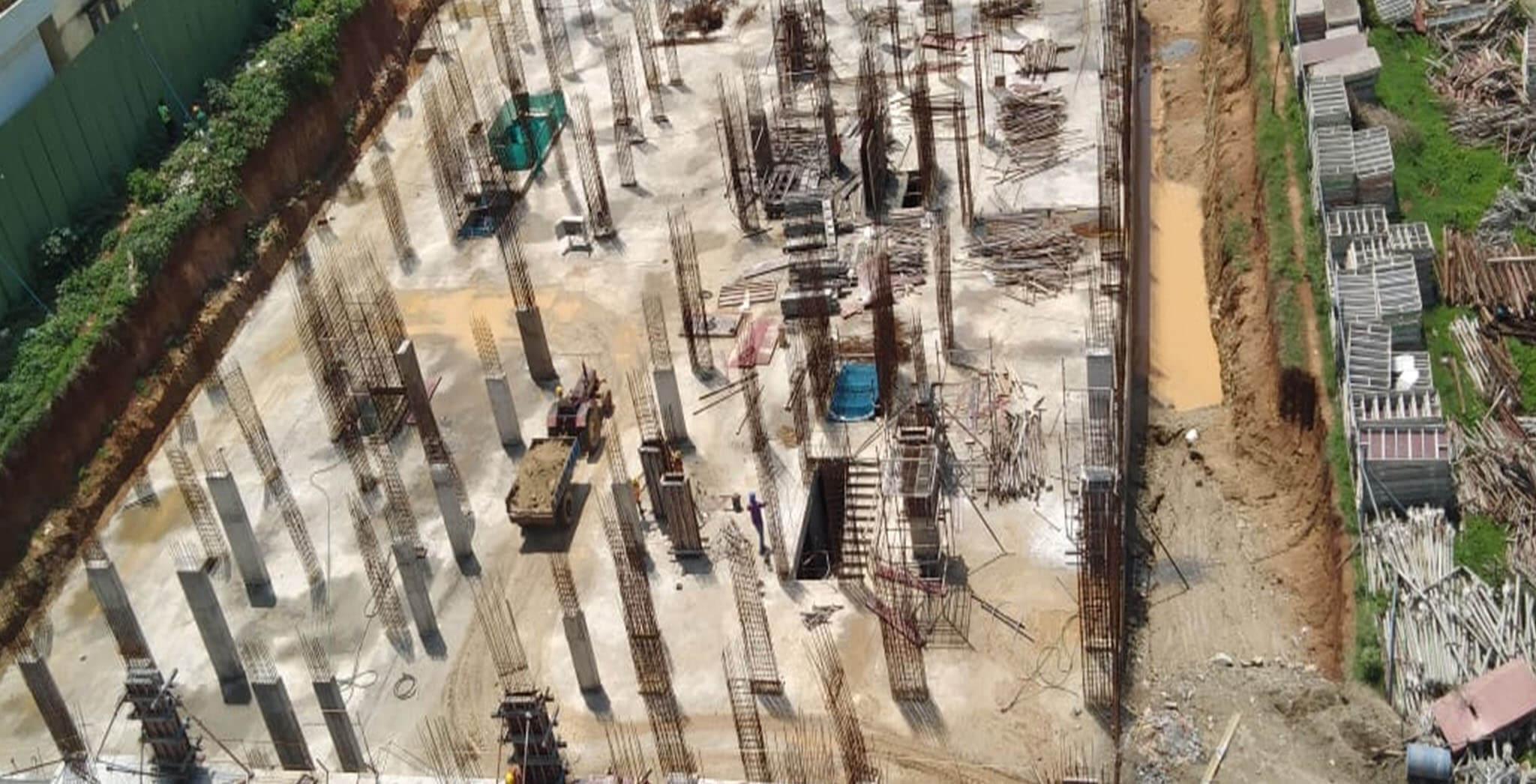 Jun 2019 - Tower D: Aerial view [Upper Basement (G,H,Q,R)]
