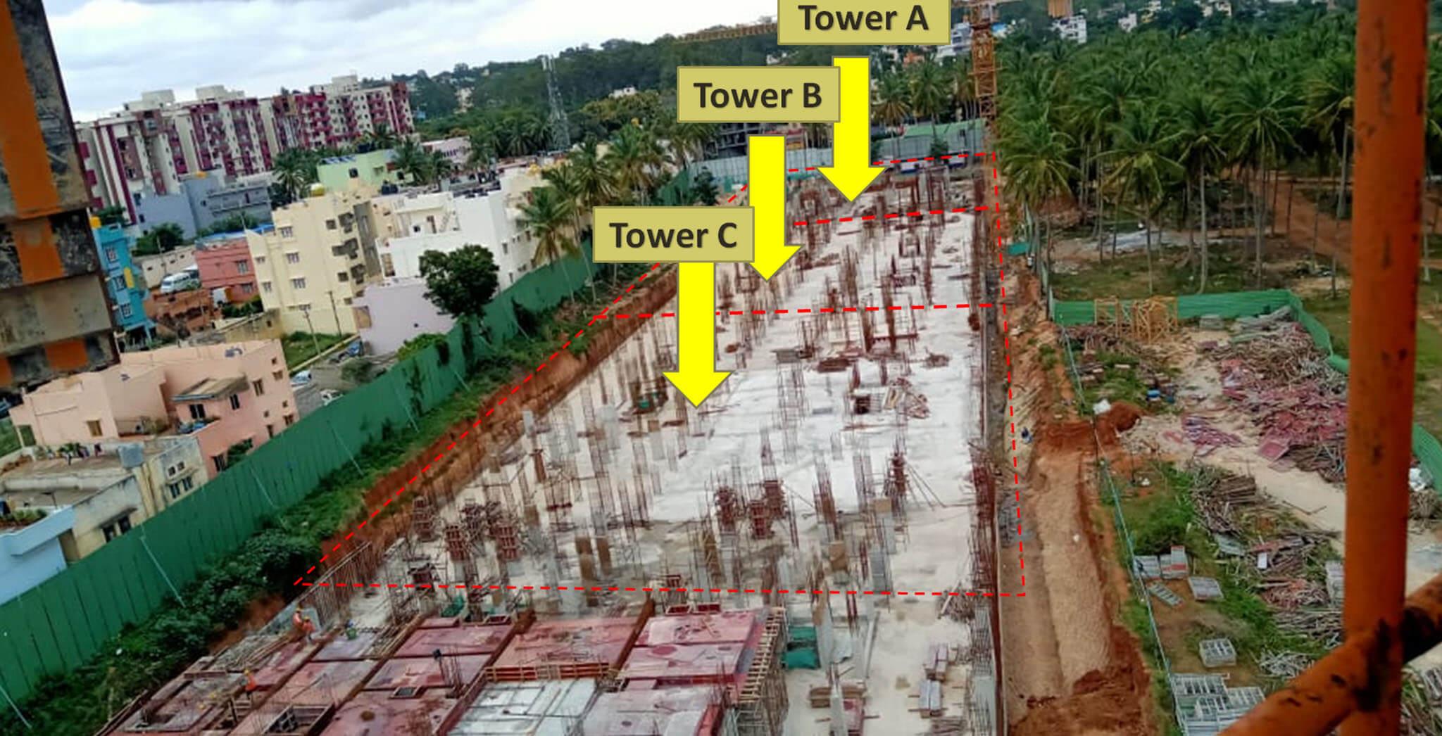 Aug 2019 - Tower A, B and C [Upper basement (A-F and S-X)]