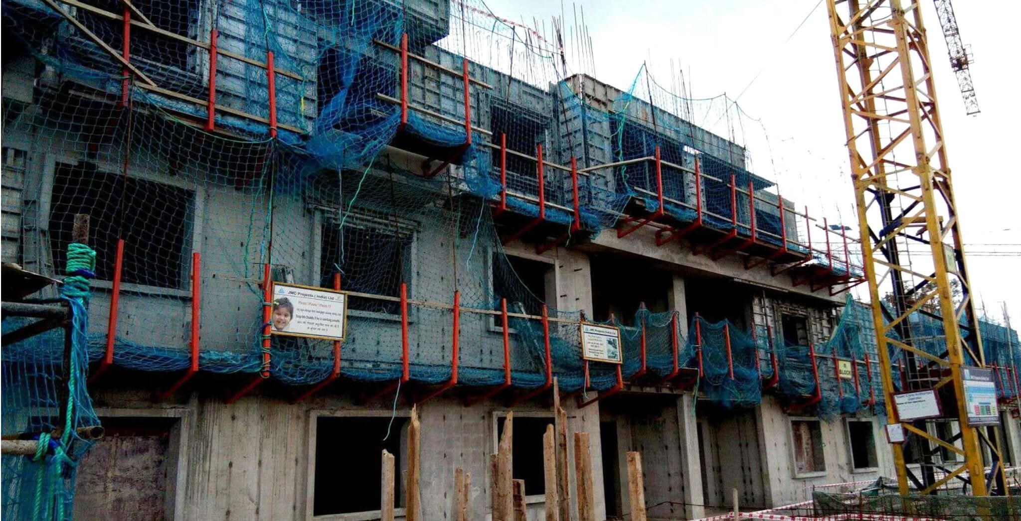 Aug 2019 - R Block: Third floor slab work-in-progress