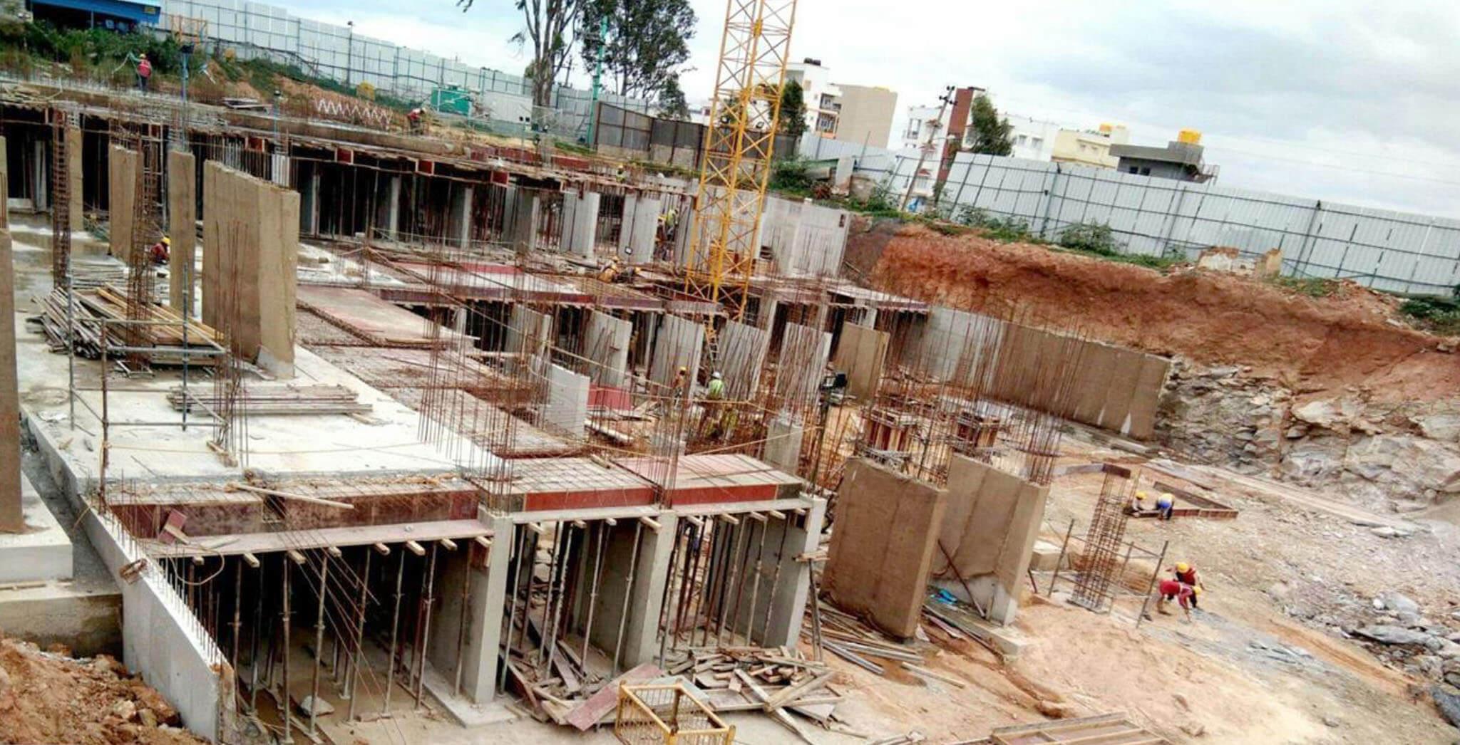 Aug 2019 - P Block: Basement work-in-progress