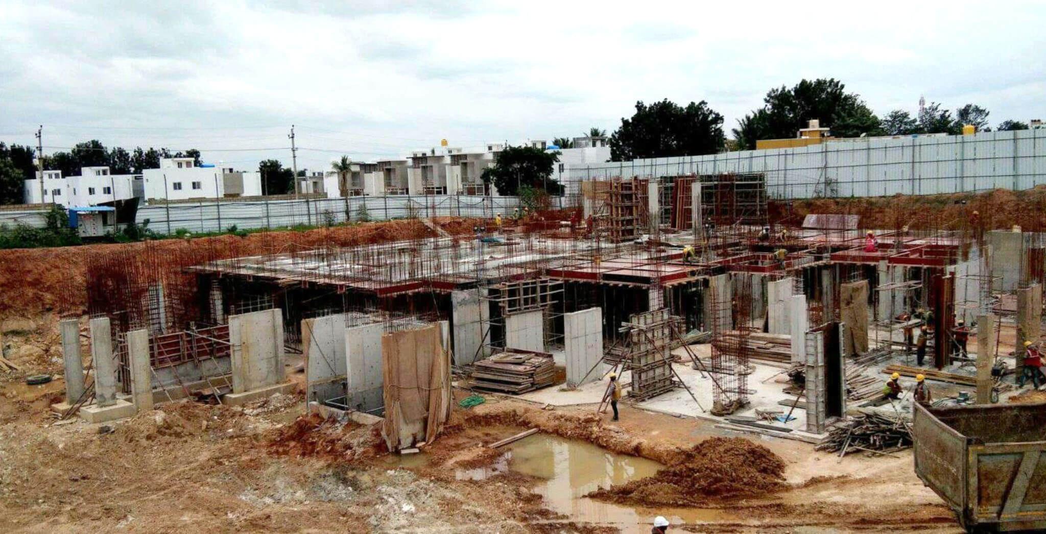 Aug 2019 - G & L Blocks: Basement work-in-progress