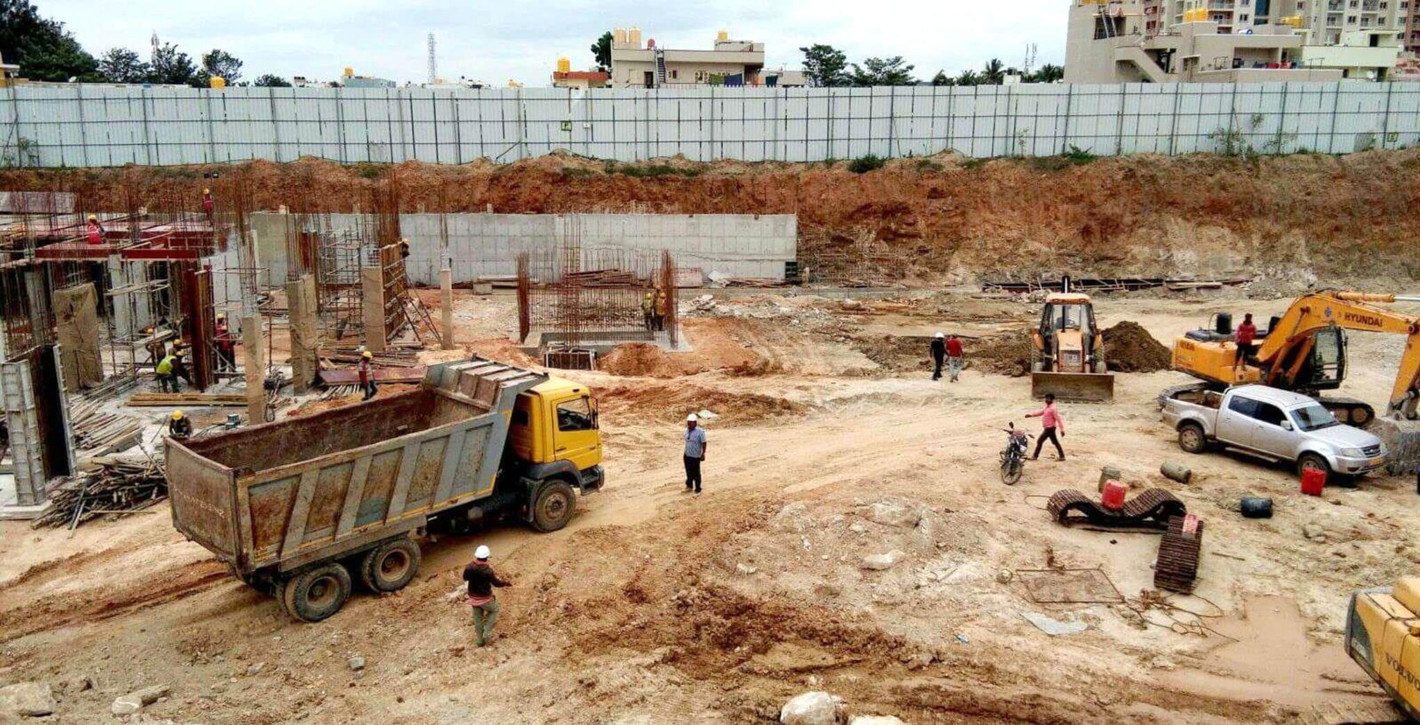 Aug 2019 - F & K Blocks: Basement work-in-progress