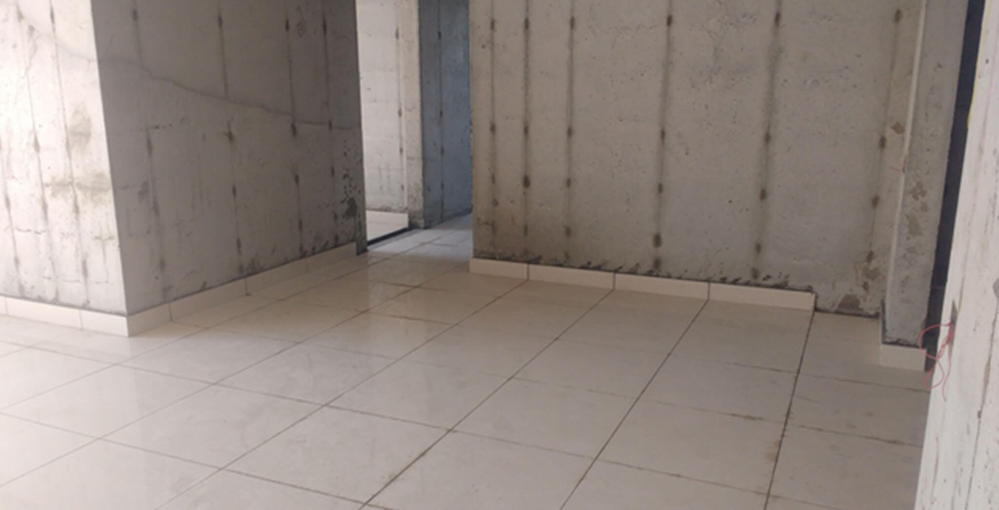 Oct 2019 - Tower B: Tiling work completed up to 6th floor level