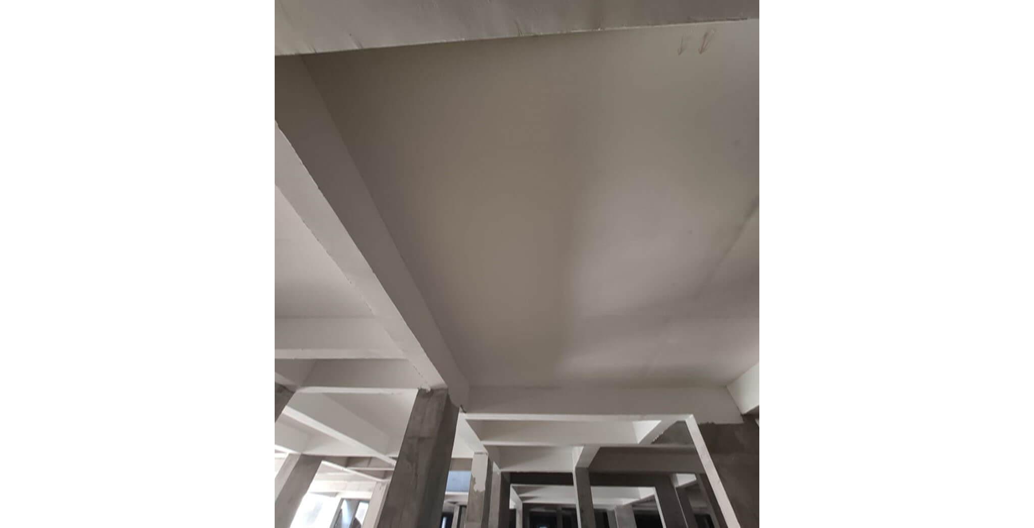 Oct 2019 - Wings K, L M & N: Basement putty work-in-progress