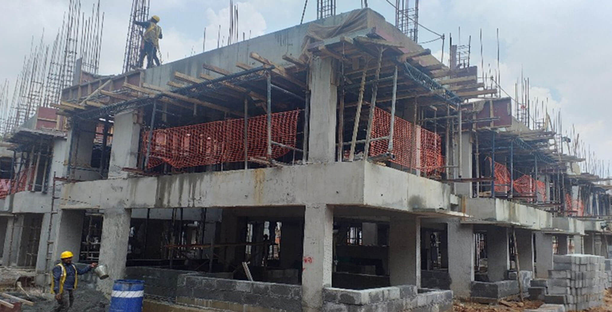 Oct 2019 - L Block: Second floor completed