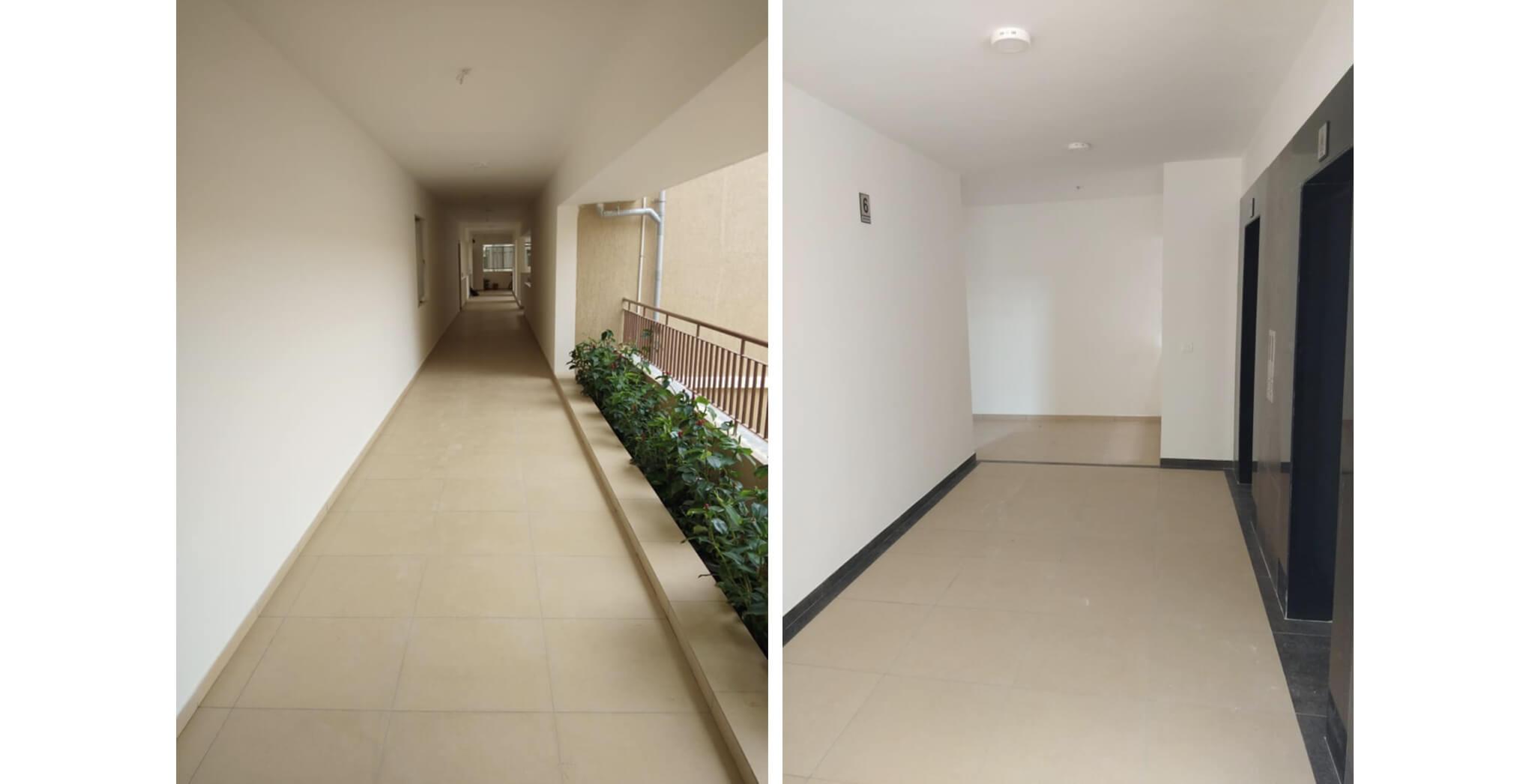 Nov 2019 - Deodar—D block: Corridor–Final coat of paint work-in-progress