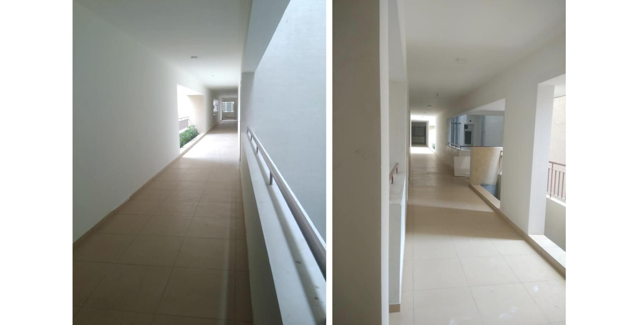 Nov 2019 - Deodar—E block: Corridor–Final coat of paint work-in-progress